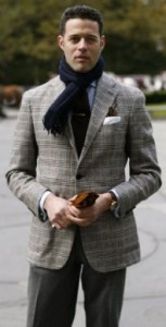 Giacca in tweed