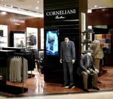 Corner Corneliani al SAKS