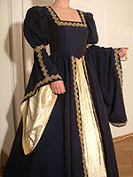abito da sposa del Rinascimento