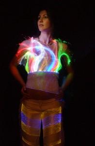 Tessuto Luminex courtesy Moda e Tecnologia 2006