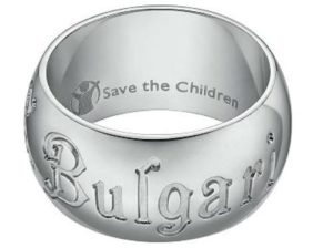 Anello Bulgari per Save the Children