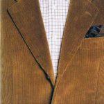 Giacca di velluto con camicia di flanella ph A. Altieri
