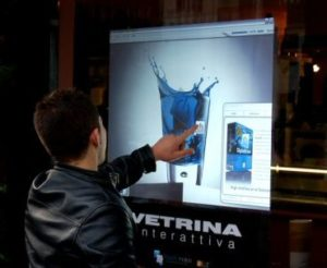 Vetrina interattiva
