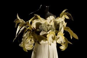 R. Capucci abito scultura ph Claudia Primangeli