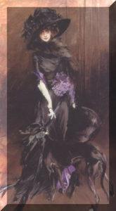 Luisa Casati ritratta da Giovanni Boldini