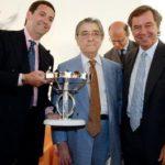 Ciro Paone riceve il premio Pitti Immagine