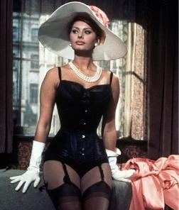 "Sophia Loren in ""La Miliardaria"""