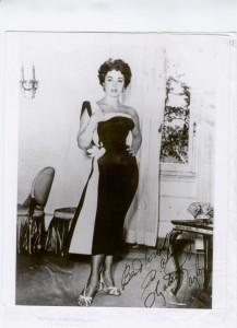 Liz Taylor abito Sorelle Fontana