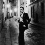 Helmut Newton in Smoking YSL