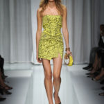 Versace sfilata p/e 2010