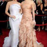 Jennifer Lopez in Armani Privé e Demi Moore in Versace