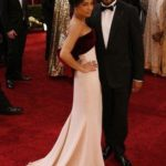 Zoe Kravitz in Alexis Mabille e Lenny Kravitz