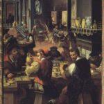 Alessandro Fei del Barbiere, La bottega dell'orefice 1570