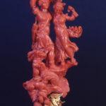 Microscultura in corallo-Manifattura trapanese XVIII secolo