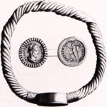 Bracciale monetale romano