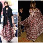 Katie Holmes in abito di D&G