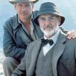 Indiana Jones e l'ultima crociata (1989) di S.Spielberg con H.Ford e S. Connery