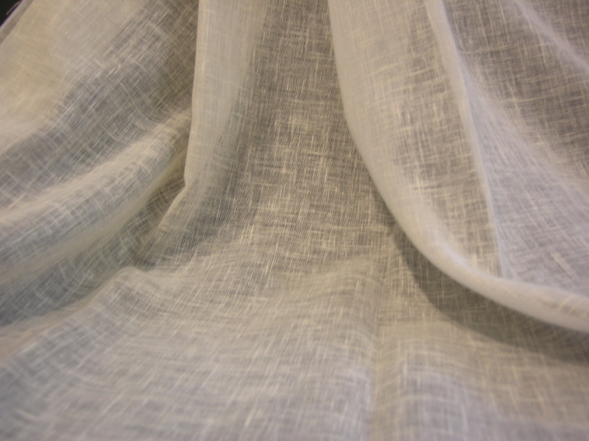 Tessuto di cotone quasi trasparente