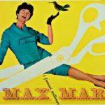 Max Mara-Manifesto di E. Carboni 1958