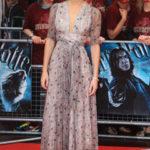 Emma Watson in abito Ossie Clark