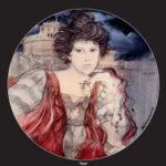 Tosca, disegno di R. Benvenut