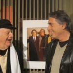 Carlo Massarini e Dario Fo