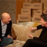 Carlo Massarini e Jeff Bezos