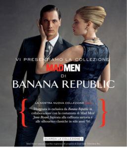 Mad Men capsule collection Banana Republic