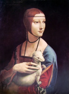 Leonardo- ritratto di donna con ermellino
