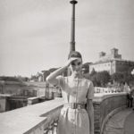 1959. Audrey a Trinità dei Monti.
