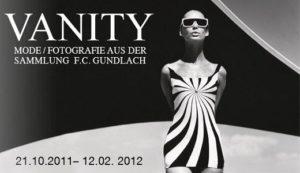 """Locandina della mostra """"Vanity Fashion"""""""