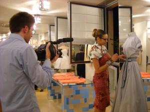 Stella Jean nel suo atelier courtesy Stella Jean