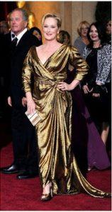 Maryl Streep agli Oscar 2012