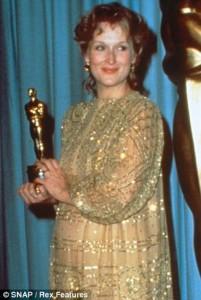 Meryl Streep agli Oscar 1982