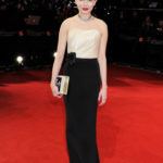 Michelle Williams in H&M Custom ai BAFTA 2012