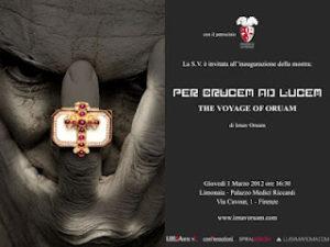 "Locandina della mostra ""Per Crucem ad Lucem"""