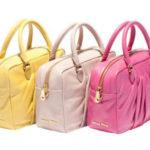 Miu Miu P/E 2012 borse colori pastello