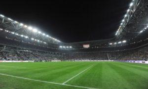 Uno stadio gremito di tifosi
