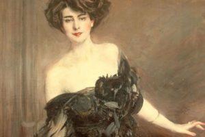 G. Boldini ritratto di donna