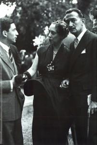 Elsa Schiaparelli e Salvador Dalì - ph. courtesy Tod's