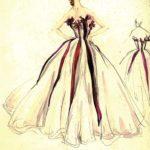 Bozzetto Elsa Schiaparelli - ph. courtesy Tod's