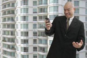Uomo d'affari cinese