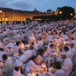 Diner en blanc a Parigi