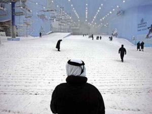 Sciare a Dubai