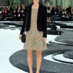 La Knightley in Chanel nel 2010