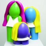 Flavio Lucchini Three Dolls