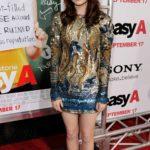 Emma Stone in Emilio Pucci nel 2010