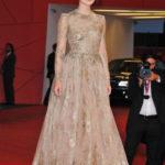 La Knightley in Valentino Couture alla Mostra del Cinema di Venezia nel 2011