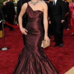 La Knightley in Vera Wang agli Oscar 2006