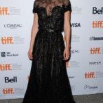 La Knightley in Elie Saab Couture al Festival del Cinema di Toronto nel 2012